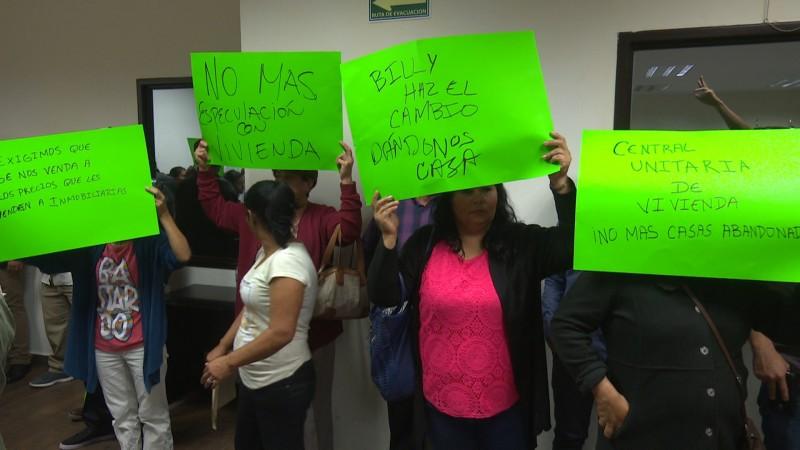 Precaristas piden 4 mil viviendas en Ahome