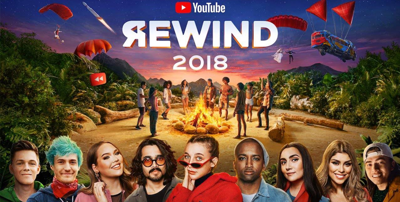 Ya está aquí Youtube Rewind 2018