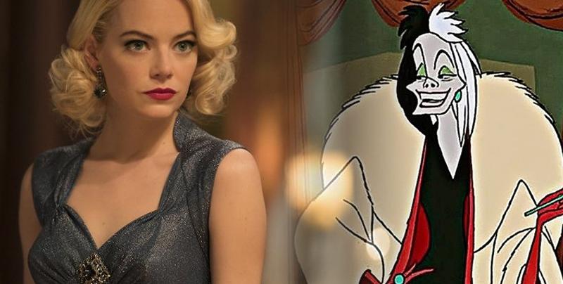 Emma Stone será una versión ochentera de Cruella de Vil