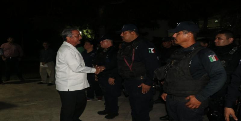A realizar gestiones para dotar de equipo a policías: JEF