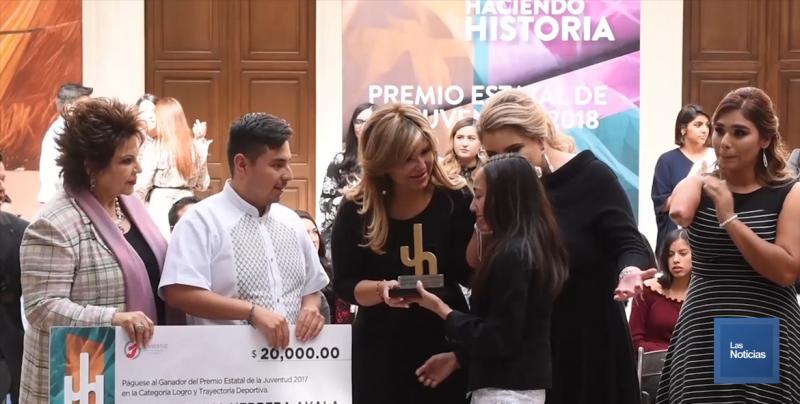 En Sonora entregaron el Premio Estatal de la Juventud 2018