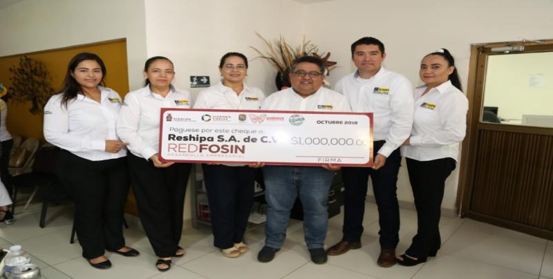 Apoyan con 626 millones de pesos a casi 4 mil empresas