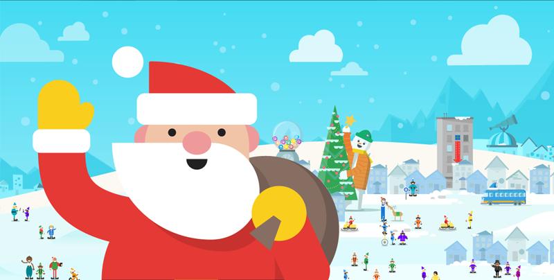 Santa Claus está en camino. Descubre dónde está con Google