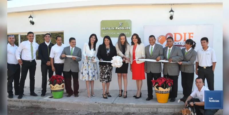 En Navojoa, inauguran centro de rehabilitación para mujeres