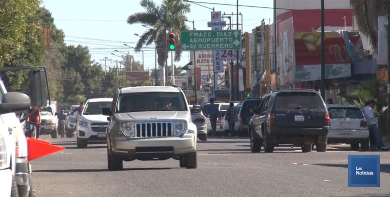 En Huatabampo, incrementa vigilancia en zona comercial