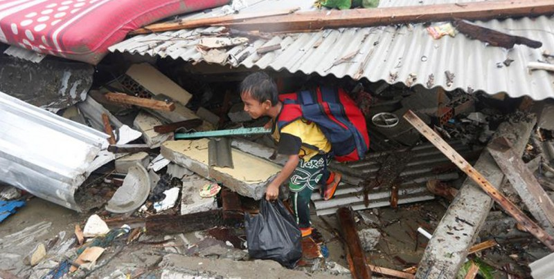 México expresa solidaridad con Indonesia por pérdida de vidas por tsunami