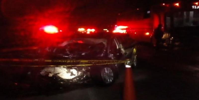 Fallece en choque automovilístico