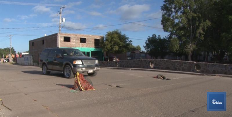 En Cajeme, vecinos piden apoyo a las autoridades para reparar puente