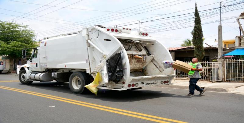 Se adelantarán días de recolección de basura por Año Nuevo