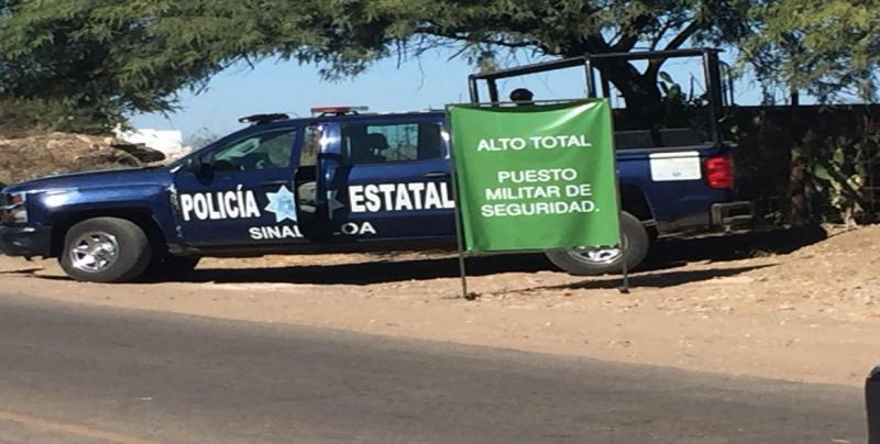 Verifican autoridades actuación de los retenes militares en Culiacán