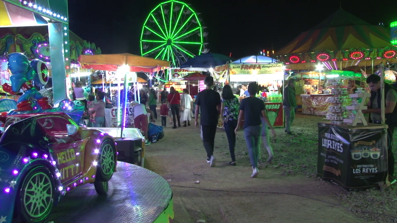 Feria Navideña en Mazatlán