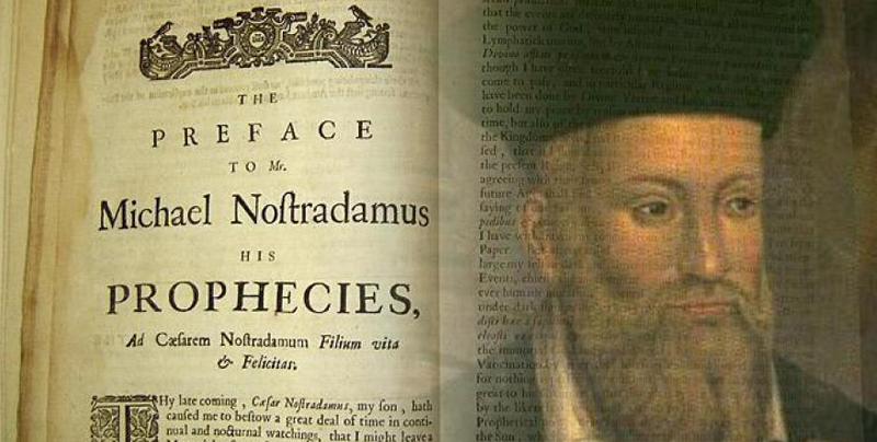 Las predicciones de Nostradamus del 2019