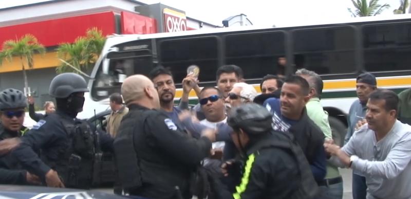Transportistas cometieron falta de respeto y no lo vamos a permitir: Alcalde de Mazatlán