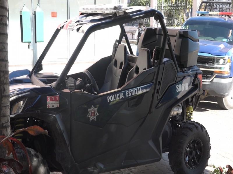 Gobierno del estado busca retirar vehículos de seguridad