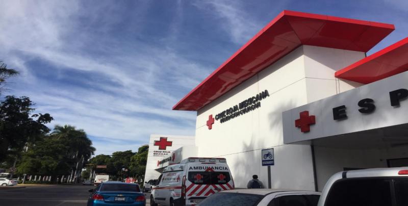 Cruz Roja Culiacán brindó 353 consultas este 31 y primero de enero