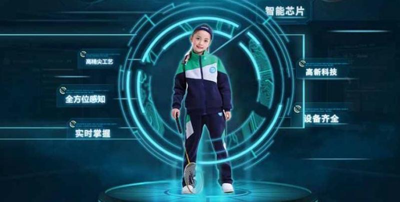 Escuelas chinas implementan uniformes que rastrean a los niños