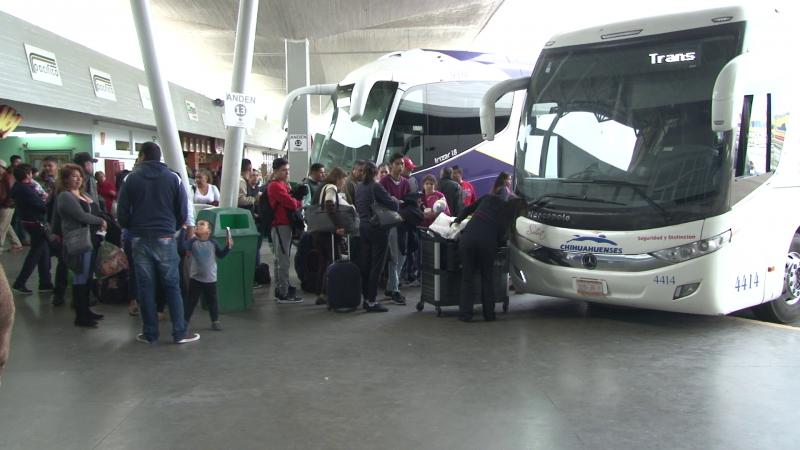 Más de 41 mil pasajeros se trasladaron por la Central Camionera