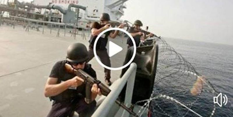 Piratas somalies se meten con el barco equivocado