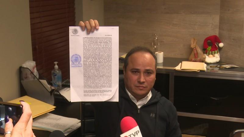 Felipe Villegas logra amparo ante su destitucion de la gerencia de JAPAMA