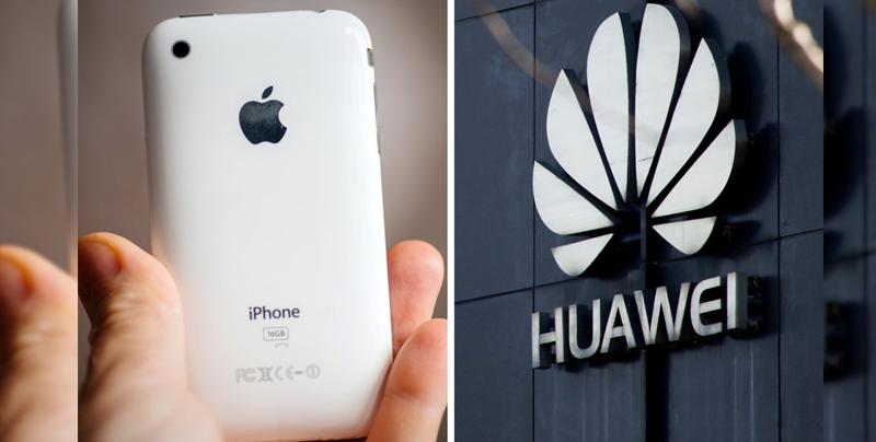 Huawei castiga a empleados por usar Twitter desde iPhone