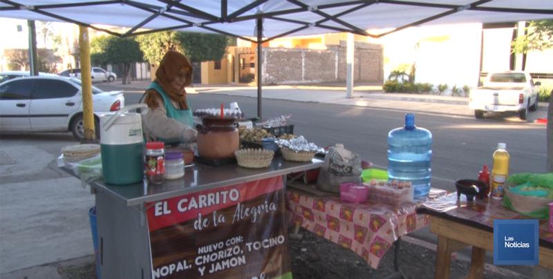 En Cajeme, doña Alma prepara desayunos al estilo sur de México