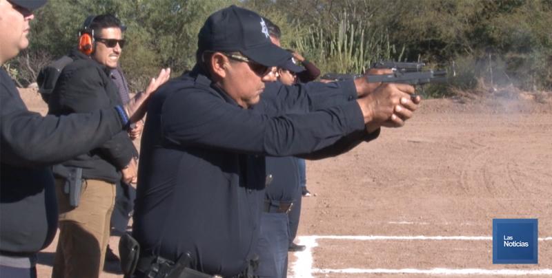 Realizan en Cajeme primer torneo de tiros entre policías