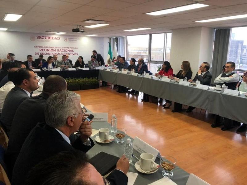 Realizan reunión de Secretarios Ejecutivos del SESP en la Ciudad de México