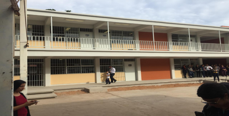 Entregan primera etapa de la escuela Álvaro Obregón