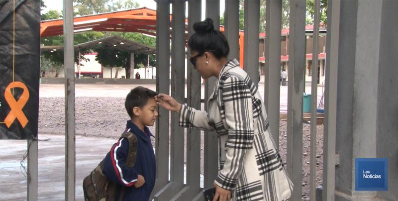 En Cajeme, padres de familia se activan más temprano por el regreso a clases