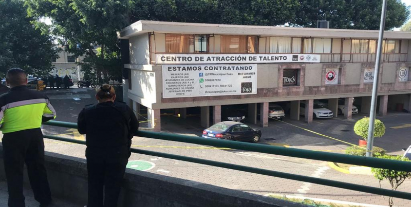 Frustran robo en Naucalpan; asaltante se suicida