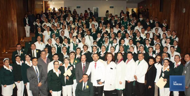 IMSS Sonora reconoció a más de 100 enfermeras y enfermeros