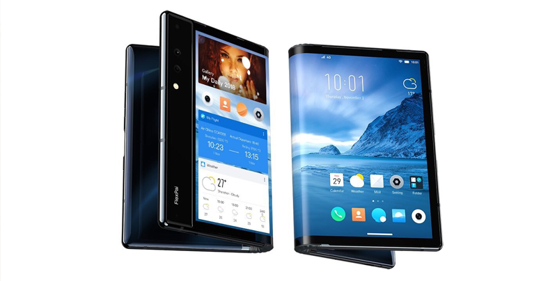 Presentan el primer teléfono con pantalla flexible