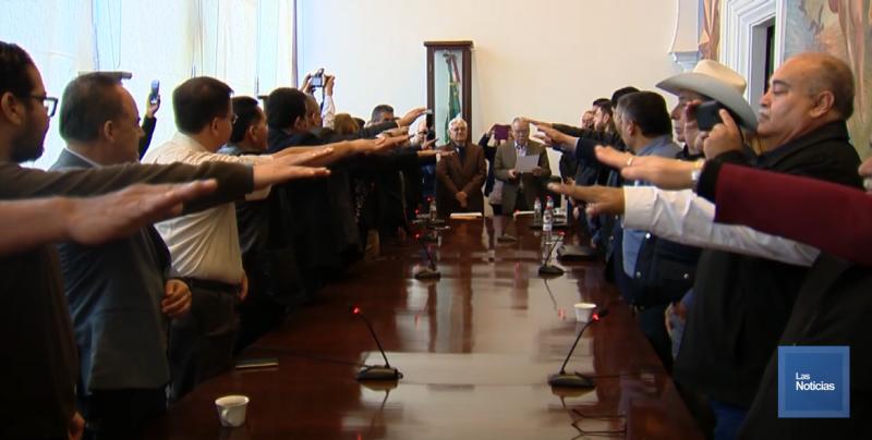 Rindieron protesta representantes laborales en las Juntas de Conciliación y Arbitraje
