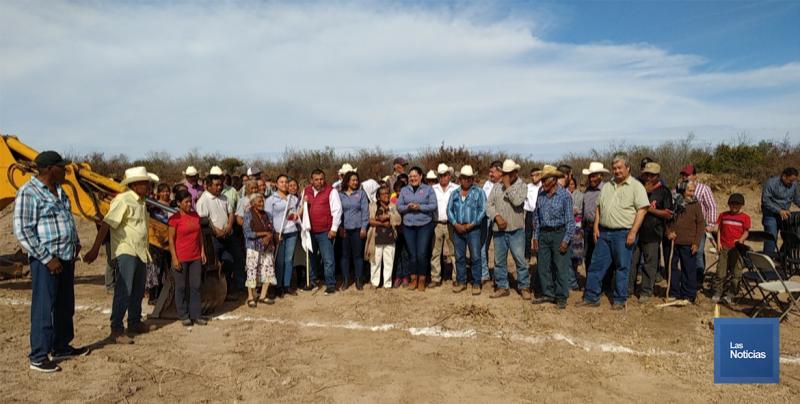 En Álamos, Alcalde Víctor Balderrama  inicia la construcción de 128 viviendas afectadas por Depresión Tropical 19 E
