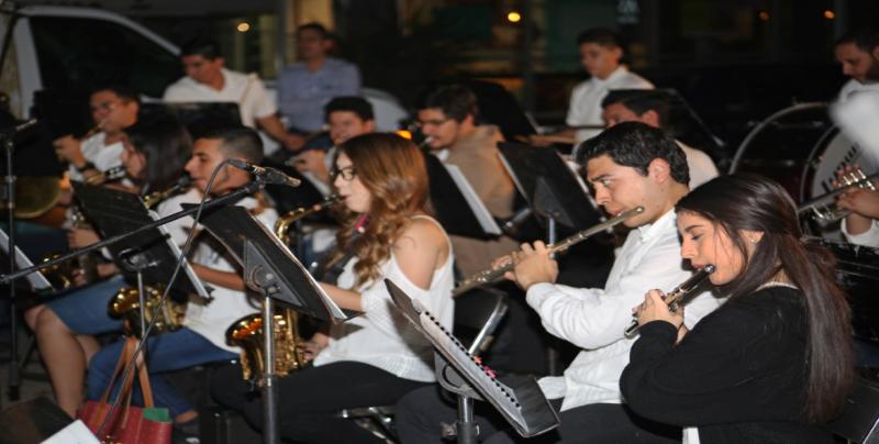 Inicia conciertos la Banda Sinfónica  Juvenil