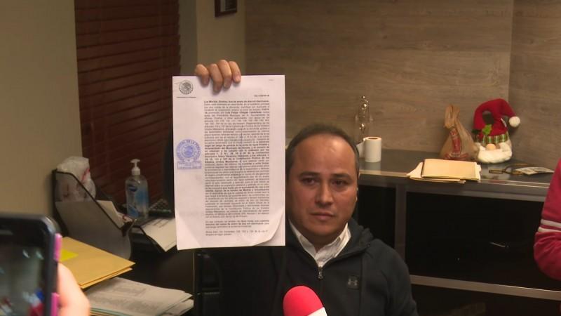 Juez desecha amparo de Luis Felipe Villegas