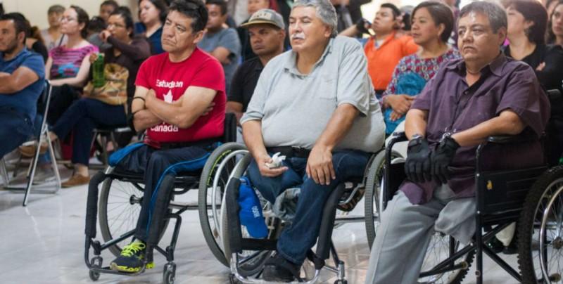 Anuncian inicio de pensiones a personas con discapacidad