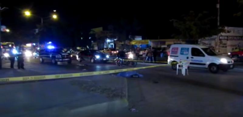 Mujer muere arrollada por una camioneta en la Col. Francisco Villa