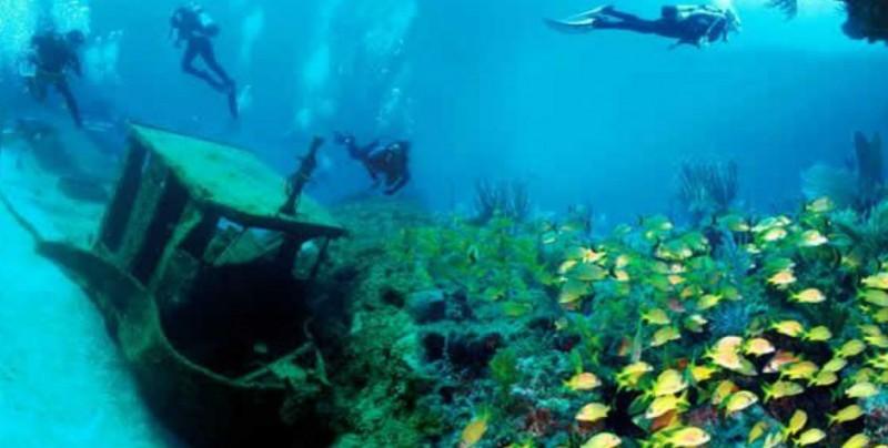 El buceo en barcos hundidos se convierte en tendencia turística