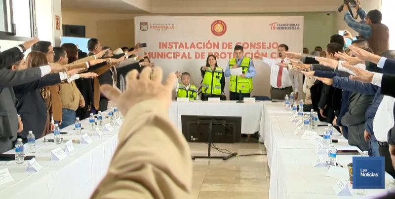 Trabaja Sonora en coordinación para atención a desastres naturales