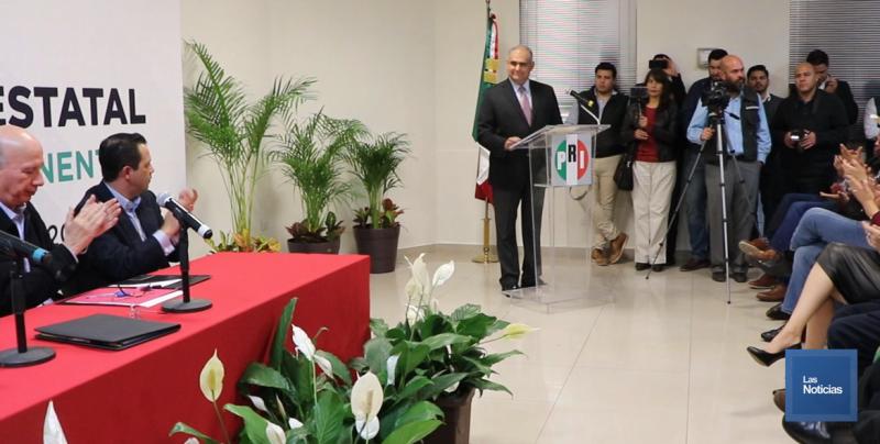 Ernesto de Lucas es el nuevo presidente del PRI en Sonora