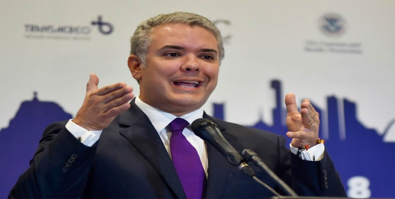 """Duque llama a democracias a pedir que Venezuela se libere de la """"dictadura"""""""