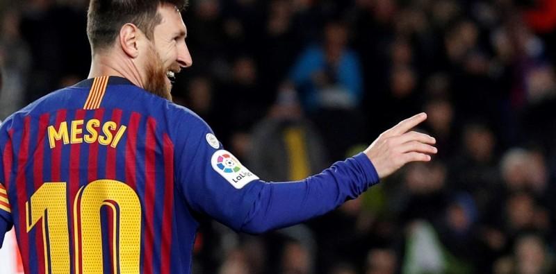 Lionel Messi marca su gol 400 en La Liga