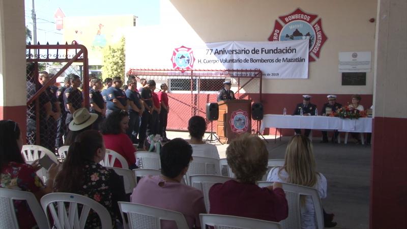 77 Aniversario de fundación: Bomberos Voluntarios de Mazatlán