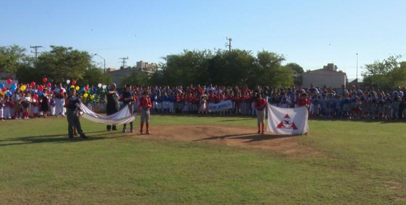 Liga Muralla de Béisbol realiza su inauguración