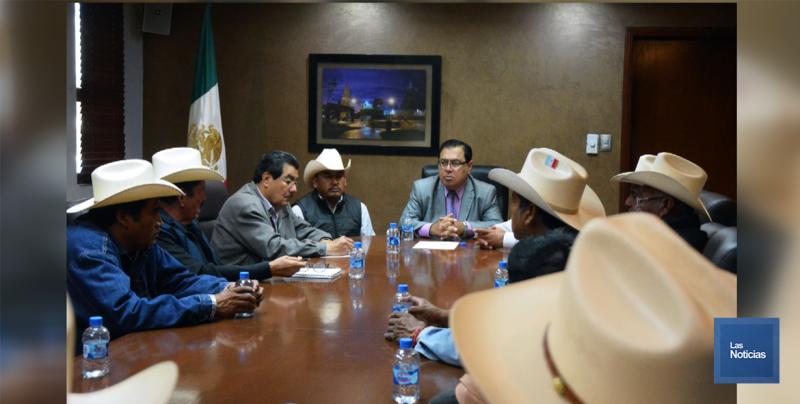 Recibe Alcalde de Cajeme a nuevas autoridades Yaquis