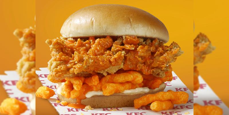 KFC lanzará un sándwich de pollo con Cheetos