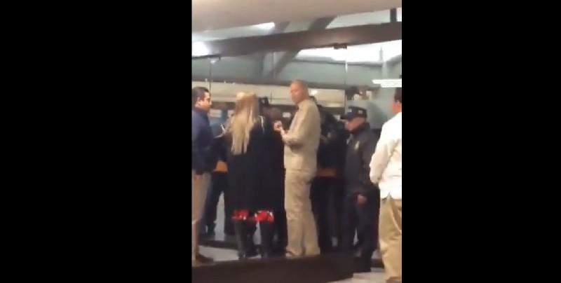 """""""Usted no es nadie aquí y yo soy diputada"""", le dice legisladora a guardia"""