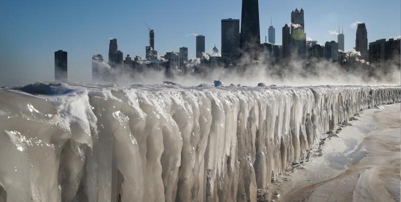 El brutal frío deja 11 muertos e impresionantes imágenes en EU