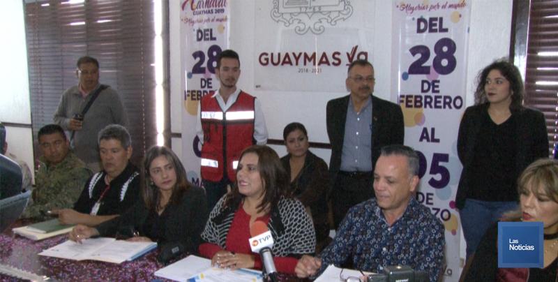 En Guaymas, presentan Carnaval 2019
